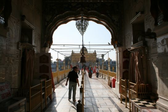 Amritsar photos, Durgiana Temple - Entrance Pathway