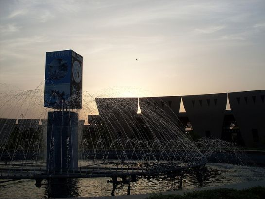 Jalandhar photos, Pushpa Gujral Science City - A Fountain view