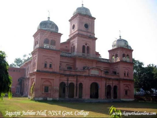 Kapurthala photos, The Jubilee Hall - A view