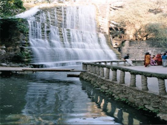 Chandigarh photos, Rock Garden - Manmade waterfall