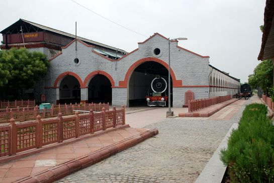 Rewari photos, Rewari Heritage Steam Locomotive Museum - An Outer View