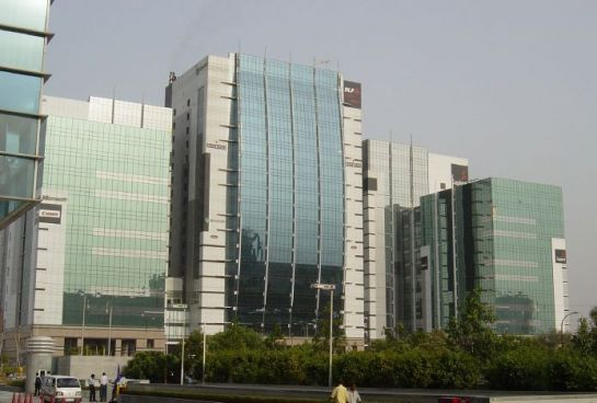 Gurgaon photos, DLF- A view of the building