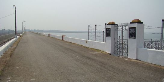 Sambalpur photos, Hirakud Dam - A beautiful Hirakud Dyke