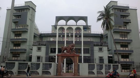 Cuttack photos, Barabari Stadium - The entrance to Barabari stadium