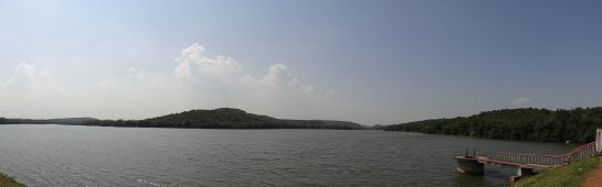 Bhubaneshwar photos, Chandaka Wildlife Sanctuary - A view of the reservoir