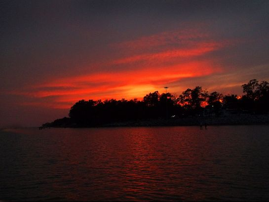 Chandipur photos, Chandipur Beach - A Beautiful Sunset