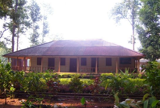 Kandhamal photos, Belghar - Wooden cottage
