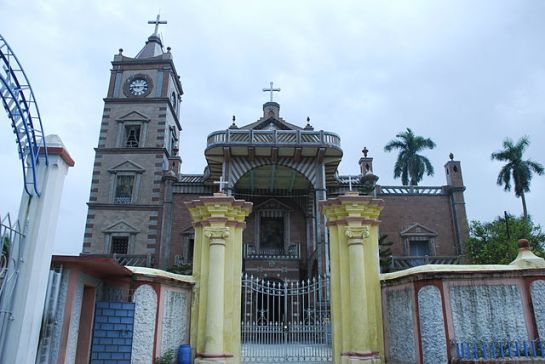 Hooghly photos, Bandel Church - Exterior View