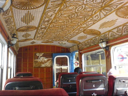 Darjeeling photos, Darjeeling Himalayan Railway - A beautiful Toy Train Cabin