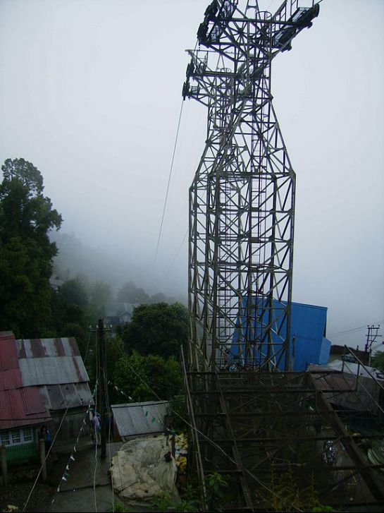 Darjeeling photos, Cable Car - The amazing Ropeway at Darjeeling