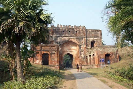 Malda photos, Malda Museum - The entrance of the Malda Museum
