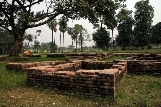 Patna photos, Kumhrar - Ruins of Patliputra