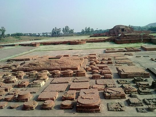 Bhagalpur photos, Vikramshila University - View of ruins