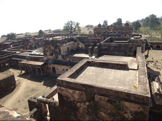 Rohtas photos, Rohtasgarh Fort - Rohtasgarh Fort Top View