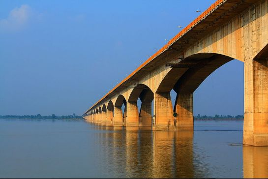 Patna photos, Mahatma Gandhi Setu - The Longest River Bridge