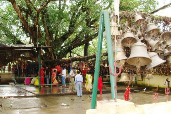 Tinsukia photos, Tilinga Mandir - A view of the bells