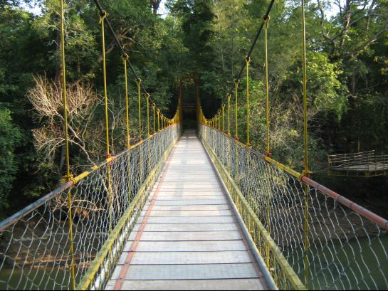Coorg photos, Abbey Falls - Hanging Bridge