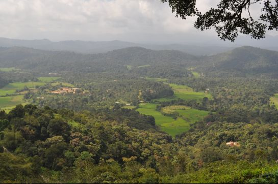 Coorg photos, Raja's seat - Contemplative Mode