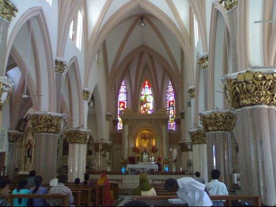 Bangalore photos, St. Mary's Basilica - Inside view