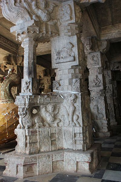 Bangalore photos, Halasuru Someshwara Temple - Pillar