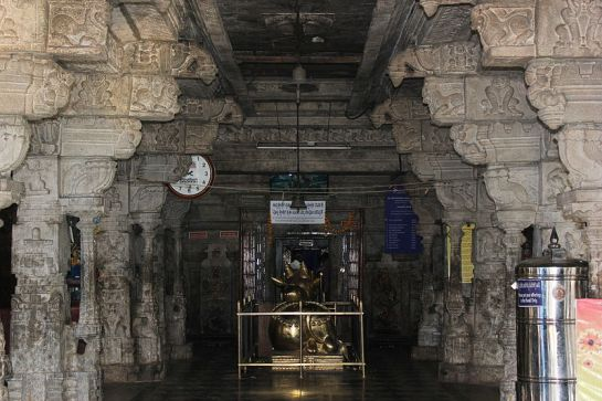 Bangalore photos, Halasuru Someshwara Temple - Inside view