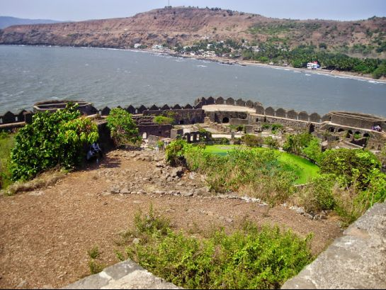 Murud Janjira photos, Janjira Fort - Distance view