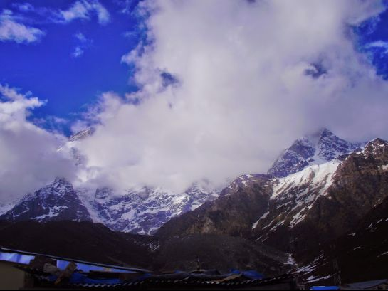 Kedarnath Photos, Kedarnath Mountain, A beautiful view of the peak
