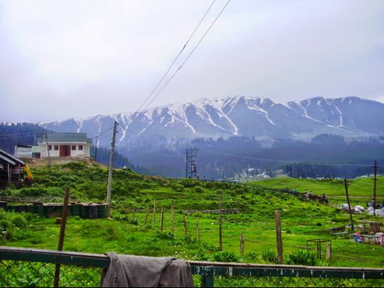 Gulmarg photos, Snow Peak