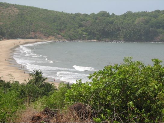 Gokarna photos, Om Beach