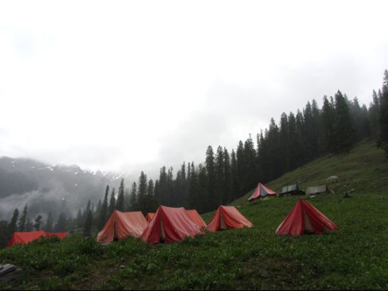 Tents in Manali