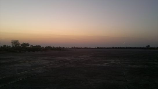 Baramati photos, Baramati_Airport_Ramp_Evening_view