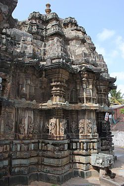 Bhadra photos, Lakshmi Narasimha Temple - Stellate_plan_of_the_shrine_in_Lakshmi_Narasimha_temple_at_Bhadravati