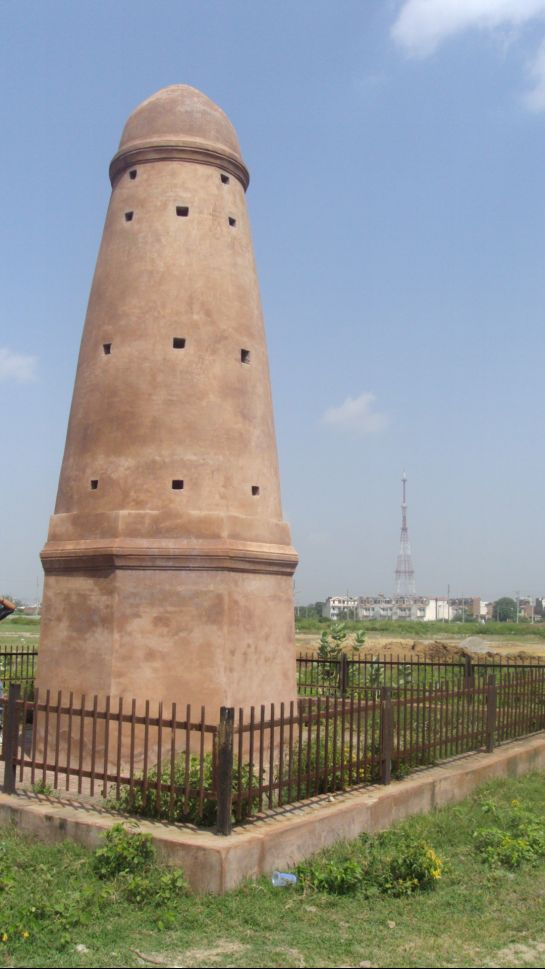 Karnal photos, Minars - Kos_minar,tirawadi,karnal
