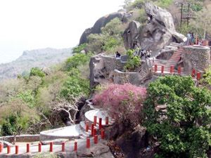 Mount Abu photos, Honeymoon Point - honeymoon2