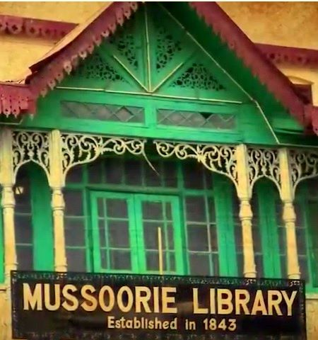 Mussoorie photos, Library Bazaar -