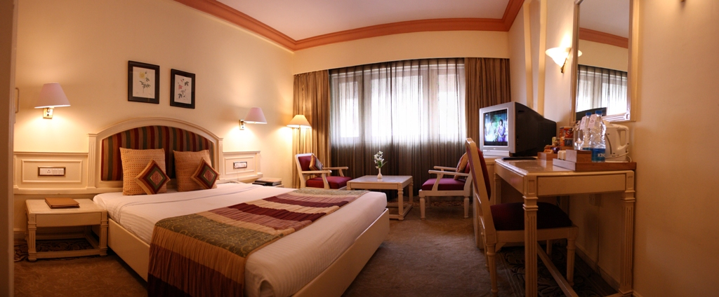 Luxury rooms of the hotel