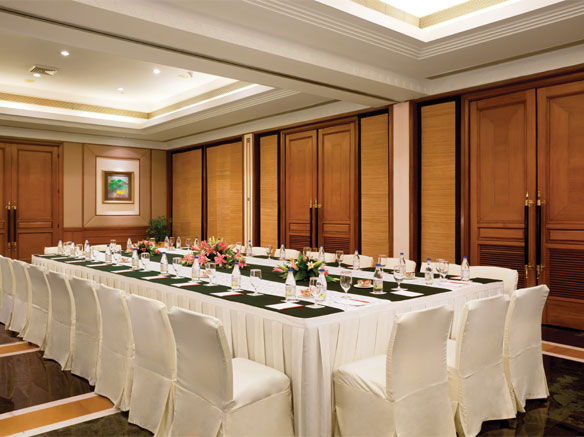 Trident Jaipur meeting room