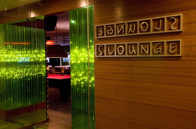 Slounge-entrance