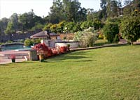 Blue Country Resort lawns