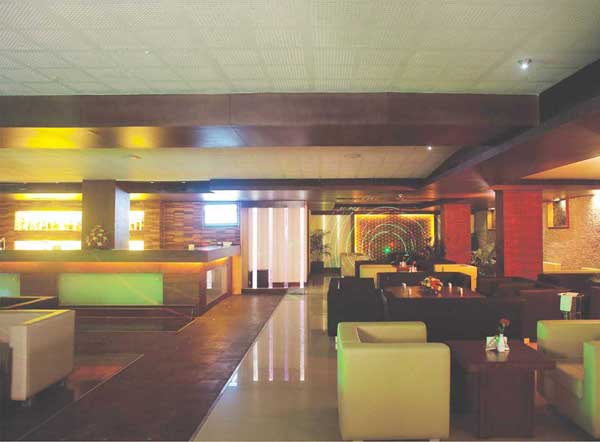 Interior of the Hotel