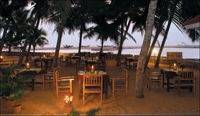 Dining venue by the Beach