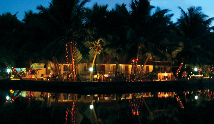 Resort at Evening