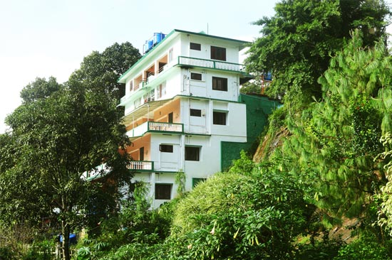 Resort amidst Greenery