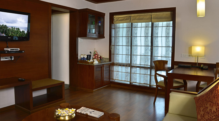 Arabian Sea view room- Amenities