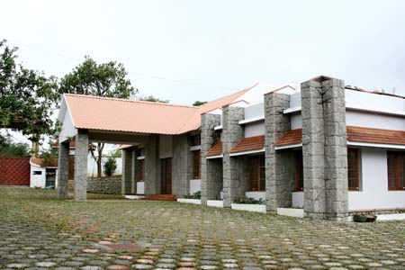 Frontview of Resort
