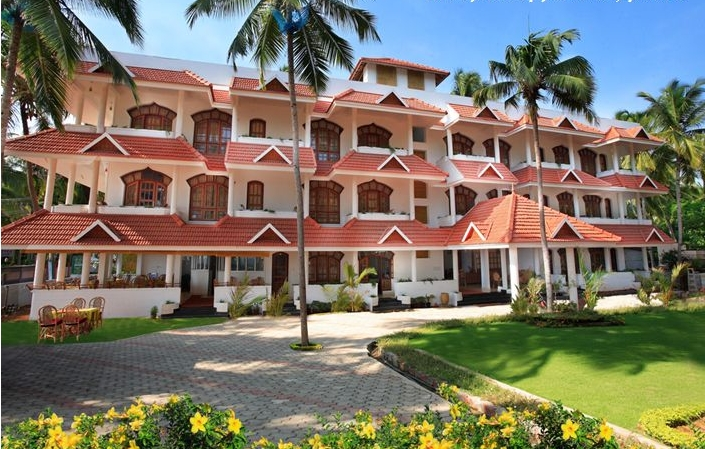 The resort exterior
