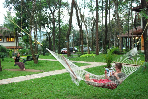Tourist in a Hammock