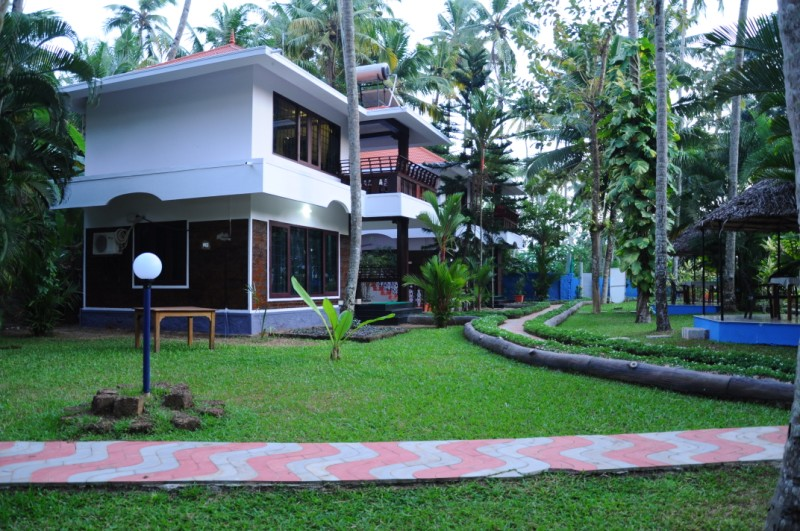 View of the resort premises