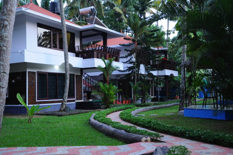 View of the resort premises 1
