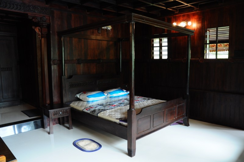 Wooden Furnishings in the room